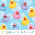 Rubber Ducky Baby Shower Napkins